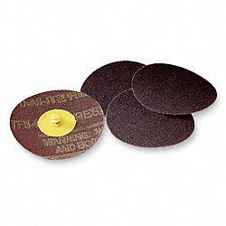 Locking Disc, SC, 3in, 80 Grit, TR, PK50