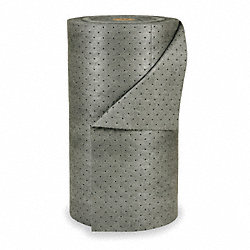 Absorbent Roll, 38 gal., Gray, 30 In. W
