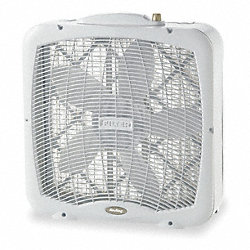 Portable BoxFan, Non-Osc, 20 In, 3-spd, 120V
