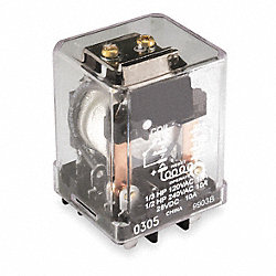 Relay, Latching, DPDT, 12VDC, Coil Volts