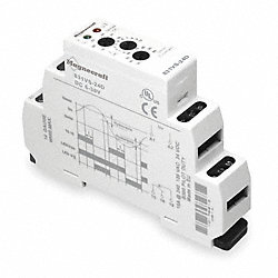 Relay, Voltage Sensing, SPDT, DIN-Mount