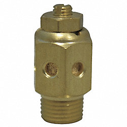 Speed Control Muffler, 1/8 NPT, 1/2 Hex