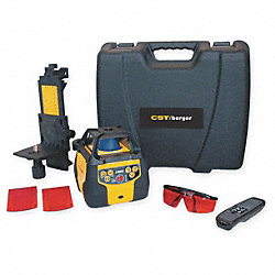 Laser Level Kit, Horizontal/Vertical