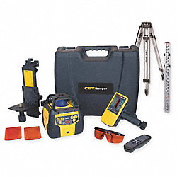 Laser Level Kit, Rotary, w/Tripod
