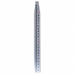 Telescoping Fiberglass Leveling Rod, 16ft