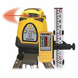 Single Manual Grade Laser Level Kit
