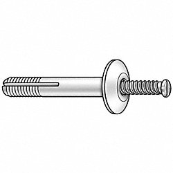 Anchor Rivet, Mushroom, 1/4 In, PK 25