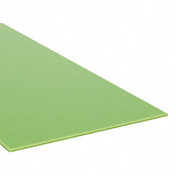 Sheet, XL10 Poly, Clear, 1/4 In T, 48x48 In