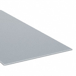 Sheet, Poly, Gray, 0.118 In T, 48 x 96 In
