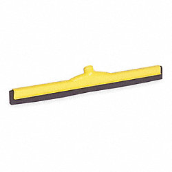 Floor Squeegee, Yellow, 24 In