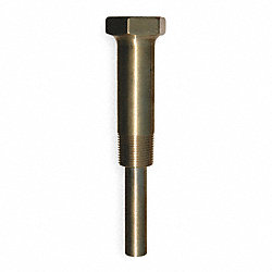Industrial Thermowell, Lagging, Brass