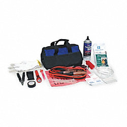 Roadside Emergency Kit, 72 Piece