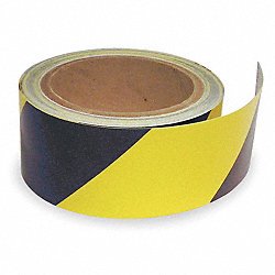 Warning Tape, Roll, 2In W, 30 ft. L
