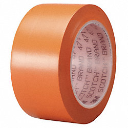 Marking Tape, 2In W, 108 ft. L, Orange