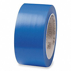 Marking Tape, 1In W, 108 ft. L, Blue