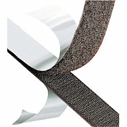Reclosable Fastener Tape, Hook, 1 In
