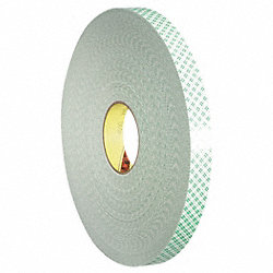 Double Coated  Tape, 1 In x 108 ft.