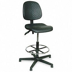 Industrial Chair, 300 lb., Black