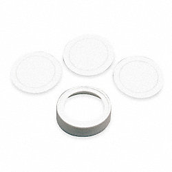 Cap Kit, Includes 3 Liners, Use With 4YF98