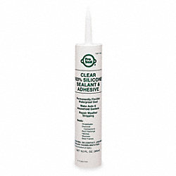 RTV Silicone, Cartridge, 11.1 oz, Clear