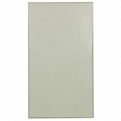 Partition Panel, 22 In W, Steel, Almond