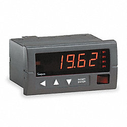 Digital Panel Meter, AC Voltage, 600 VAC