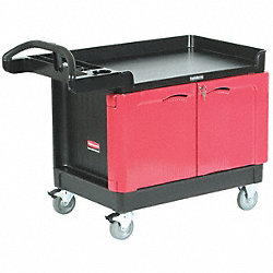 Trade Cart/Service Bench, 500 lb., Black