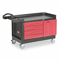 Trade Cart/Service Bench, 750 lb., Black