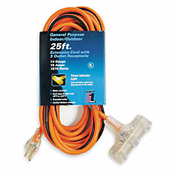 Extension Cord, 25 Ft
