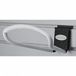 Slat Wall Loop Hook, H4, W8, PK 6