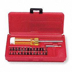 proto screwdriver bit set multi bit screwdrivers 1fr28 j61929 grainger. Black Bedroom Furniture Sets. Home Design Ideas