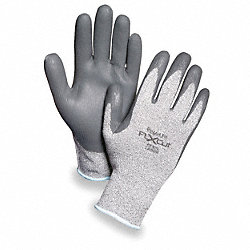 Cut Resistant Gloves, Gray, XL