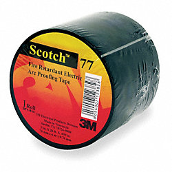 Electrical Tape, 1-1/2x20 ft, 30 mil, Black