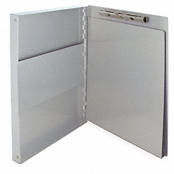 Portable Storage Clipboard, Letter, Silver