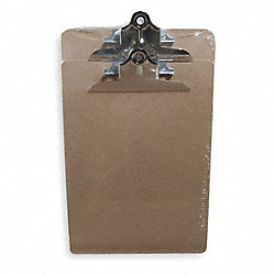 Clipboard, Letter, Light Brown, PK2