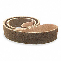 Sanding Belt, 4 In Wx24 In L, AO, 80GR