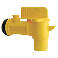 Drum Faucet, Manual Close, 2 In NPT