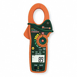 Digital Clamp On Ammeter, 1000A