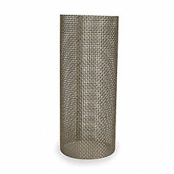 Filter Screen, 1-1/2 In, Stainless Steel