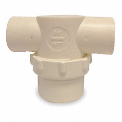 Line Strainer, Low Profile, 1/2 In FNPT