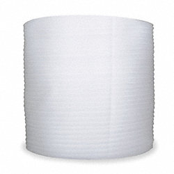 Foam Roll, White, 12 In. W, 600 ft. L