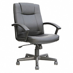 Manager Leather Chair, Adjustable