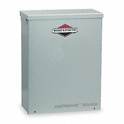 Automatic Transfer Switch, 240V, 14 In. H