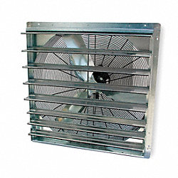 Exhaust Fan, 30 In, 115 V, Single Speed