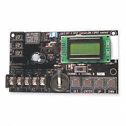 Programmable Timer, LCD Readout