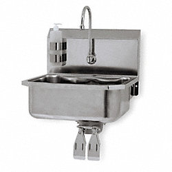 Hand Free Sink, Wall Mount