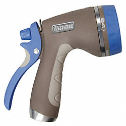 Water Nozzle, Gray/Blue, 6-1/8 In L