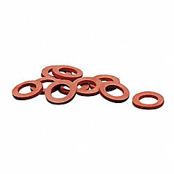 Garden Hose Washer, Rubber, PK 10