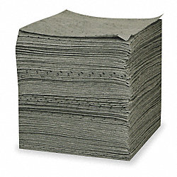 Absorbent Pads, 30 gal., 19 In. L, PK 100