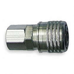 Quick Coupler, 1/4 FNPT, 1/4 Body, 300 PSI